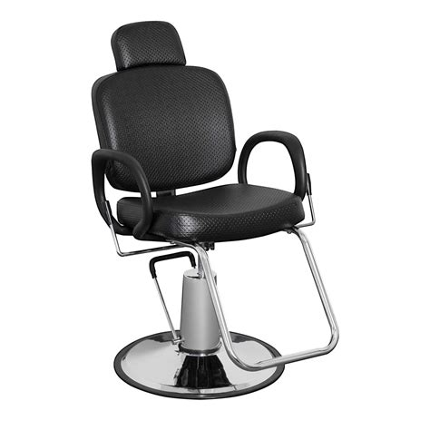 Reclining Salon Chair With Headrest by Pibbs 5446 Loop All Purpose Reclining Chair Headrest