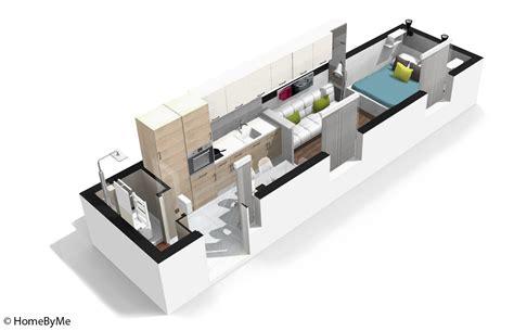 amenagement chambre 12m2 décoration appartement en longueur