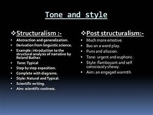 Differences Structuralism And Post Structuralism