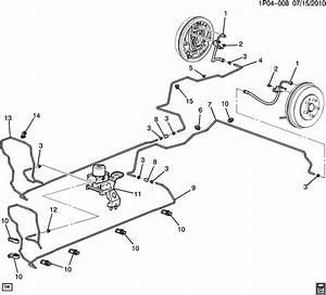 Chevrolet Cruze Valve Kit  Electronic Brake Control  Valve