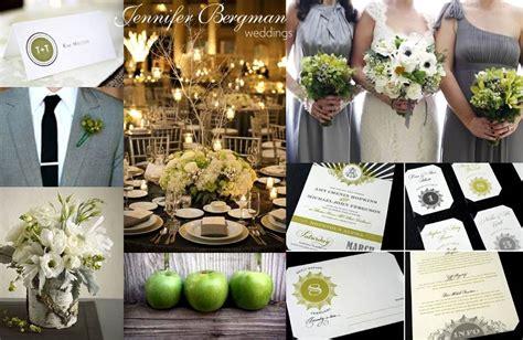 grey  green wedding inspiration board jennifer