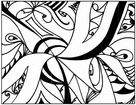 Get This Abstract Coloring Pages To Print For Grown Ups