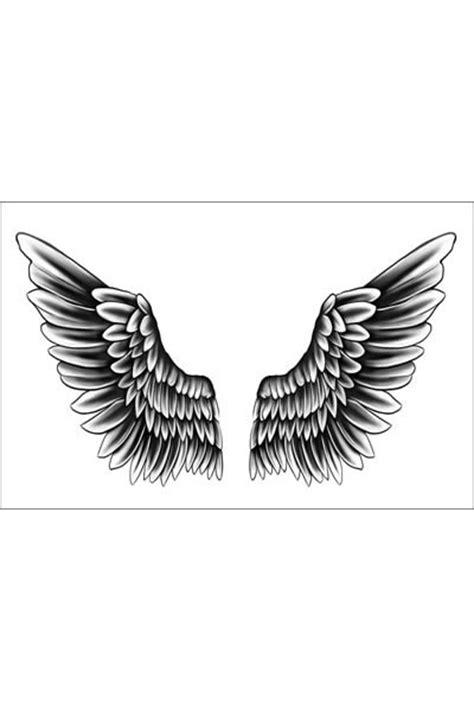 Justin Bieber Wings Temporary Tattoo of Temporary Tattoos