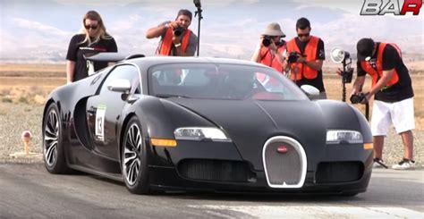 Bugatti Veyron Top Speed Testing