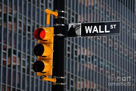 wall traffic light new york photograph by cicconi