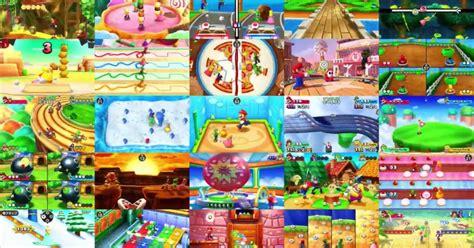 mario partys  minigames  collected  mario