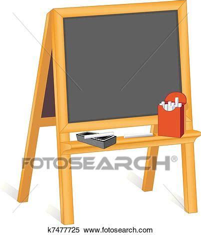 clipart  easel blackboard  search clip art