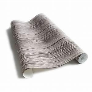 Papier Peint Trompe L Oeil Bois : papier peint planches de bois cendr es ~ Premium-room.com Idées de Décoration