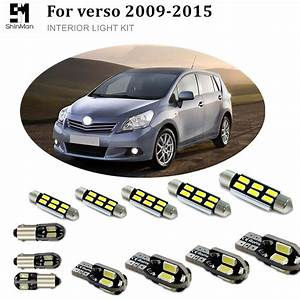 Shinman 6pcs X Error Free Canbus Led Interior Light Kit