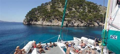 Catamaran Boat Trip Menorca by Catamaran Trip From Alcudia Mallorca Boats Catamarans