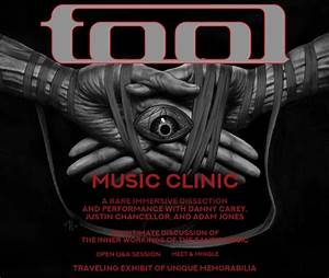 Rock Band Tool Will Host Intimate Music Clinic At Agora