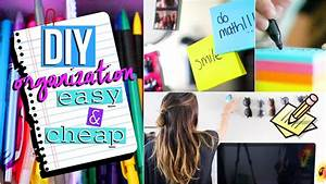 DIY Room Organization and Storage Ideas! Easy Organization