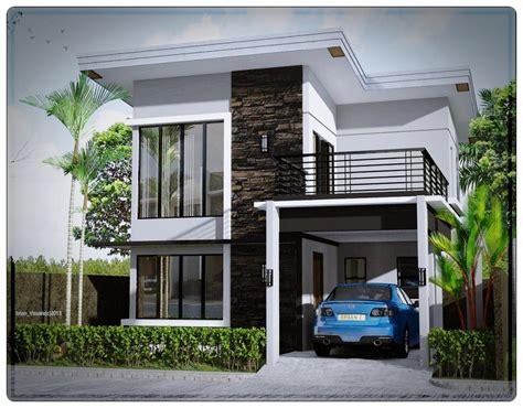 desain rumah mewah sederhana  lantai