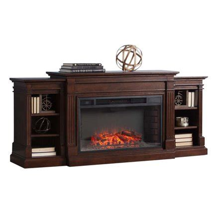 fireplace tv stand walmart southern enterprises reese electric fireplace tv stand in