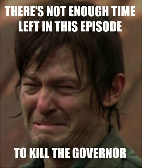 Walking Dead Memes Season 3 - the walking dead governor meme www imgkid com the image kid has it