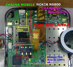 China Nokia 5800 Charging Problem Solution Diagram