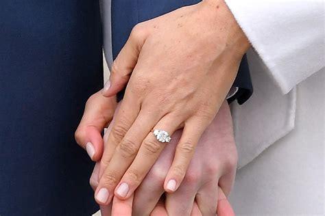 Meghan Markle's Engagement Announcement Nail Polish