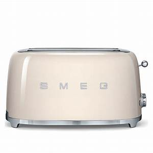 Smeg Toaster Creme : smeg tsf02cruk retro 4 slice toaster cream ~ A.2002-acura-tl-radio.info Haus und Dekorationen