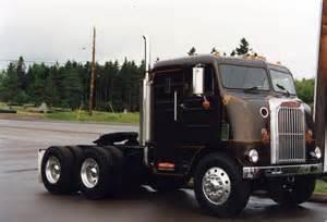 White Freightliner Cabover Trucks for Sale
