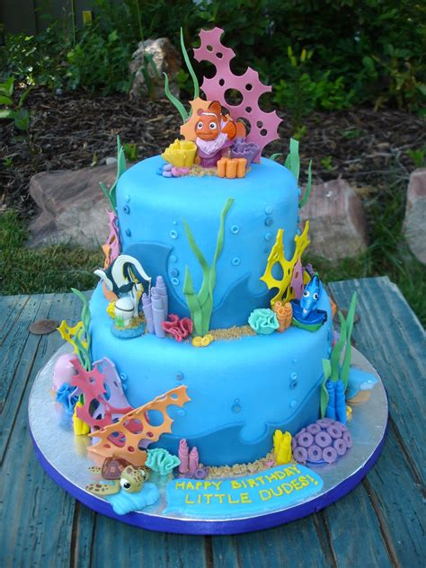 Cake As An Art Finding Nemo Cake