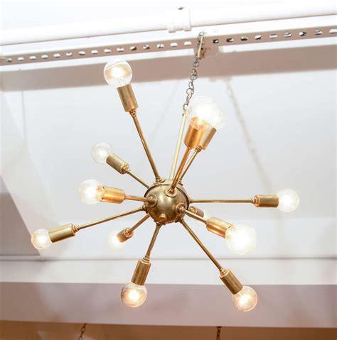 sputnik light fixture vintage sputnik brass light fixture at 1stdibs