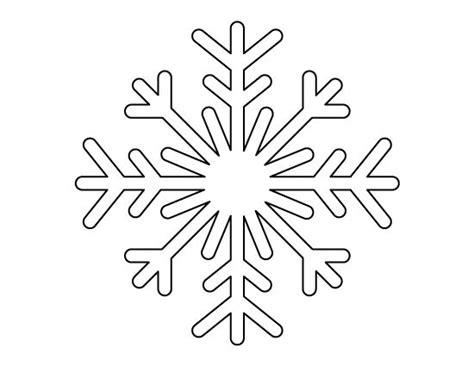 printable full page snowflake pattern   pattern