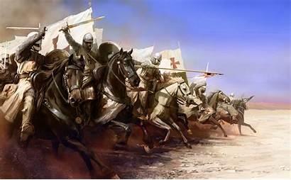 Knight Templar Crusade Horse Warrior Background Wallpapers