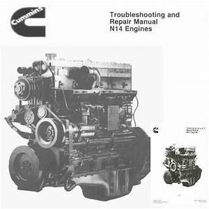 Cummins N14 1992 Diesel Engine Shop Service Manual Celect