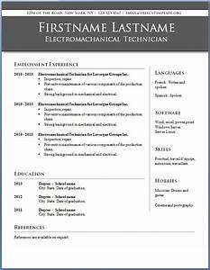 resume templates word free learnhowtoloseweightnet With best microsoft word resume template