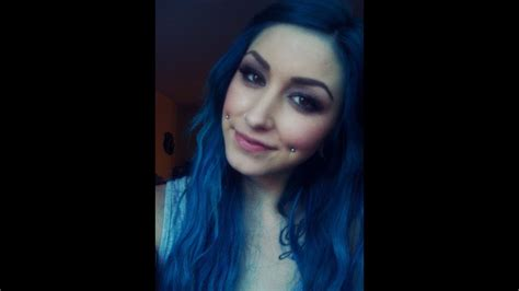 What I Use How I Get Bright Blue Hair Youtube