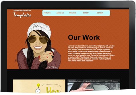 12 Adobe Muse Templates To 12 Best Adobe Muse Images On Adobe Muse