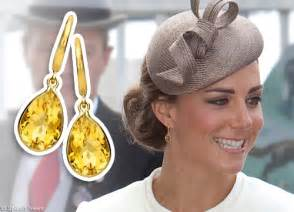 mcdonough citrine drop earrings mcdonough citrine earrings kate middleton style