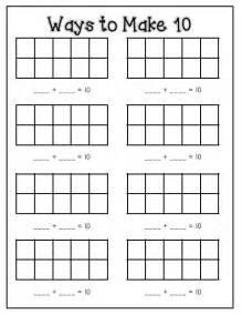 make worksheets free number names worksheets make ten worksheets free printable worksheets for pre school children