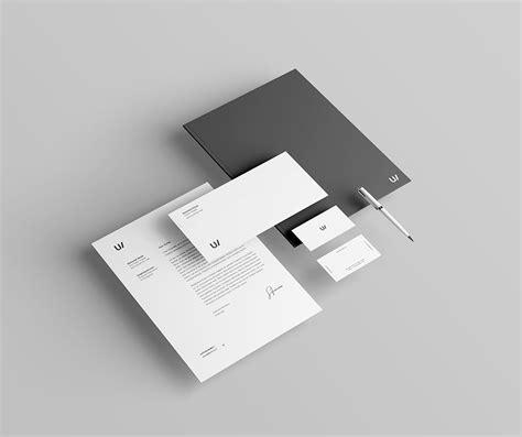 stationery branding identity mockup graphiceat