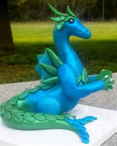 Polymer Clay Water Dragon