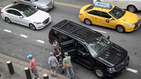 New York City Caps Uber And Lyft Vehicles
