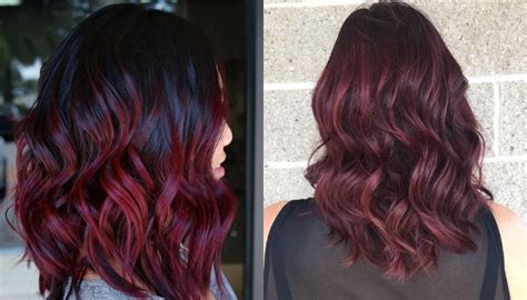 This Red Wine Hair Trend Is Gorgeous And Literally Made