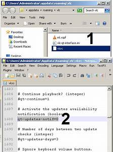 Creating A Good Resume Disable Auto Updates In The Vlc Player Lab Core The