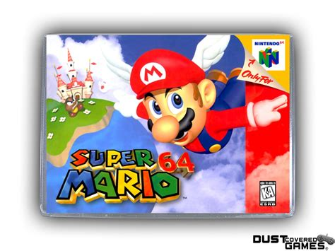 Super Mario 64 N64 Nintendo 64 Game Case Box Cover Brand