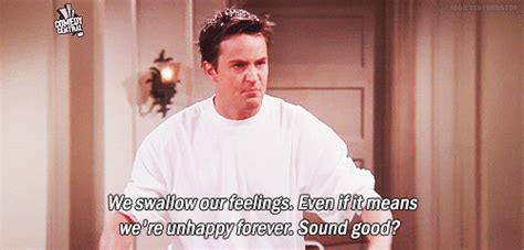 perfectly sarcastic chandler bing quips  feed