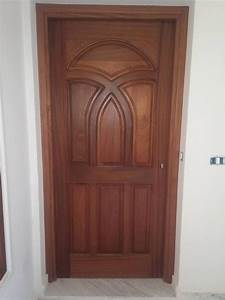 Porte D Entrée D Appartement : porte blind e d appartement en bois dur acajou portes en bois tunisie ~ Melissatoandfro.com Idées de Décoration