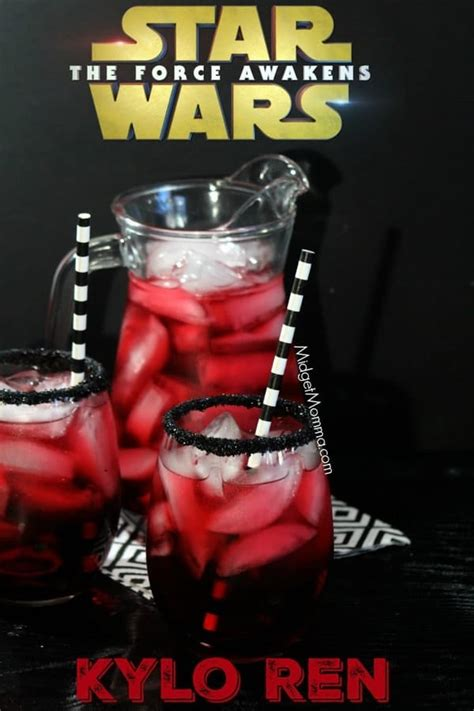 star wars kylo ren party drink  kids easy