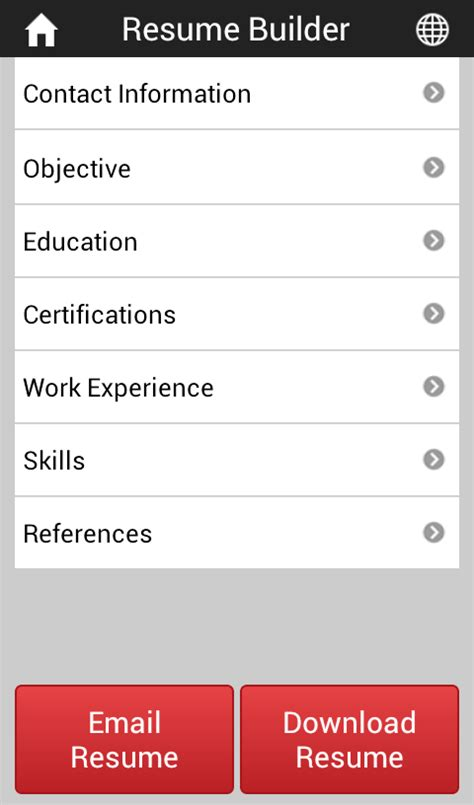 career igniter resume builder android apps on play