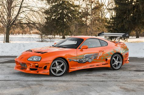 toyota supra the fast and the furious supra driven by paul walker heads