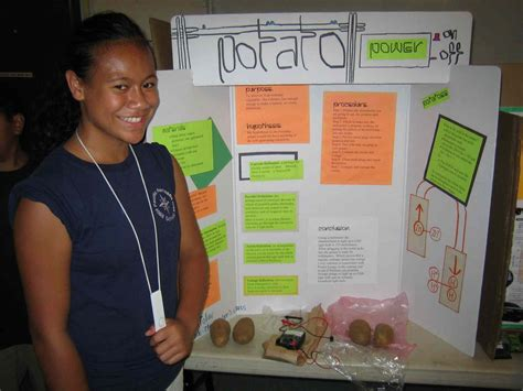 Potato Light Science Fair Projects Bing Images