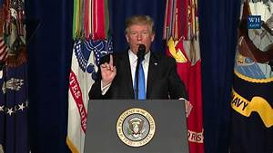 President Trump Gives a Presidential Address to the Nation ...