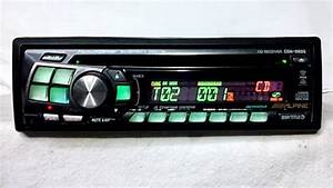 Vintage Alpine Cda 9805 Am Fm Cd Car Stereo