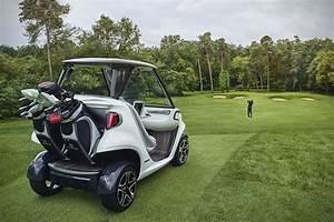 Mercedes Benz X Garia Luxury Golf Cart HiConsumption