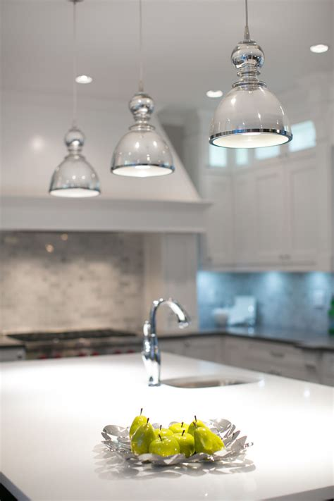 large white dining table mercury glass pendant light kitchen contemporary with