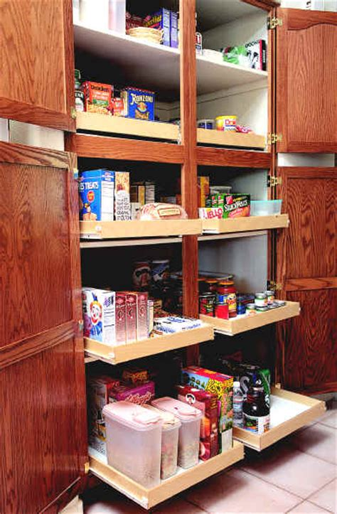 How To Make A Pantry Out Of A Bookcase by Kitchen Pantry Cabinet Pull Out Shelf Storage Sliding Shelves
